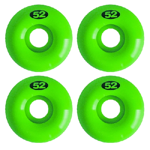 NUDE ROUES NUDES 52MM lime green 101a