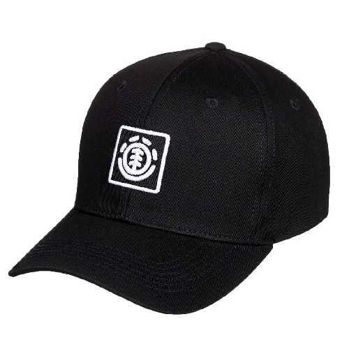 ELEMENT TREELOGO CAP flint black