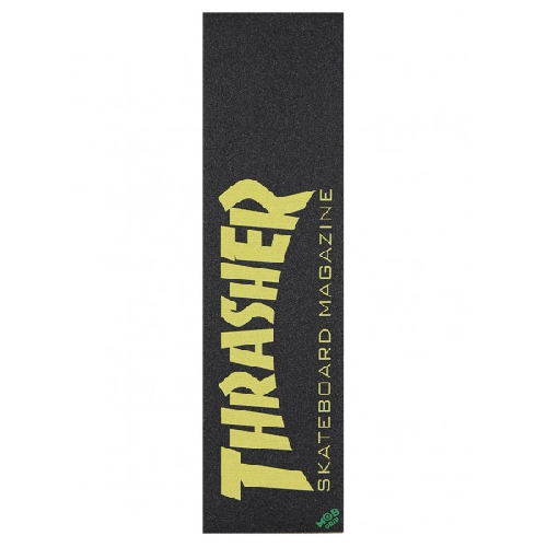 THRASHER GRIP PLAQUE MOB skate mag yellow