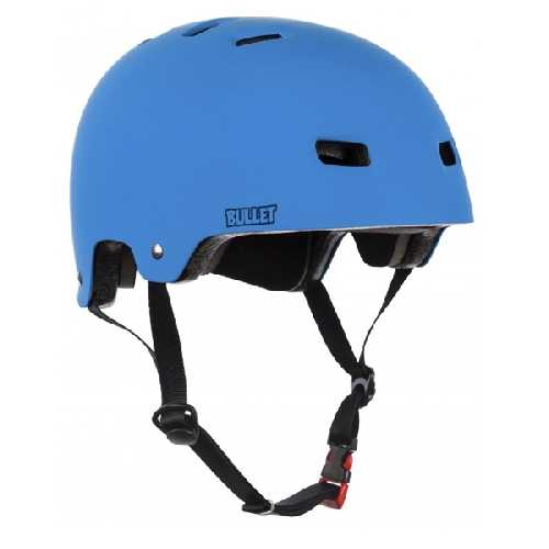 BULLET HELMET DELUXE JUNIOR blue 49-54cm