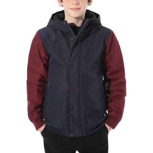VANS WELLS MTE BOYS JACKET dress blues port royal
