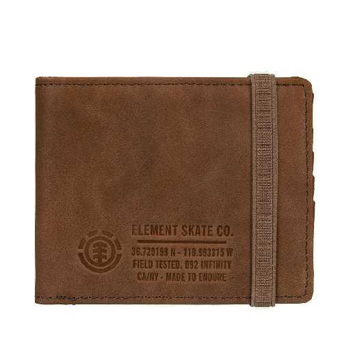 ELEMENT ENDURE L II WALLET brown