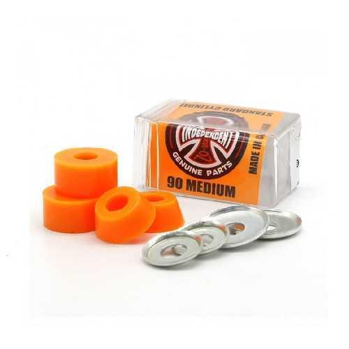 INDEPENDENT BUSHINGS CYLINDER MEDIUM 90A orange