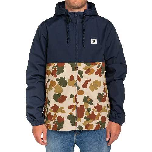 ELEMENT ALDER LIGHT 2 TONES JACKET sand camo