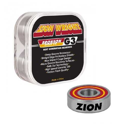 BRONSON SPEED CO G3 PRO BEARINGS Zion Wright
