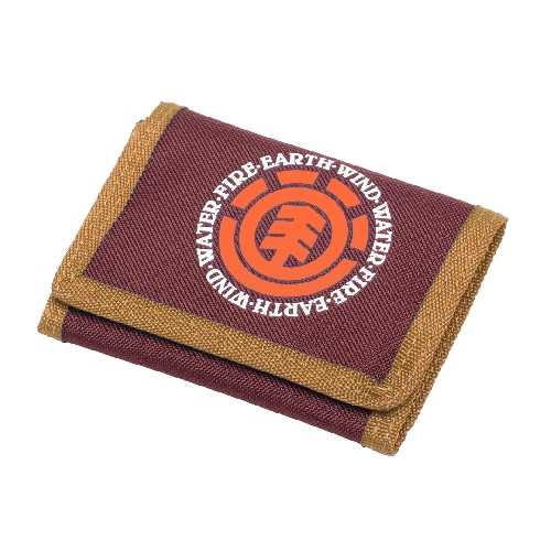 ELEMENT ELEMENTAL WALLET burgundy/gold/orange
