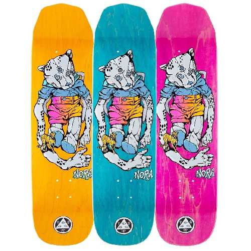 WELCOME TEDDY NORA WICKED PRINCESS DECK 8.125 x 31.6