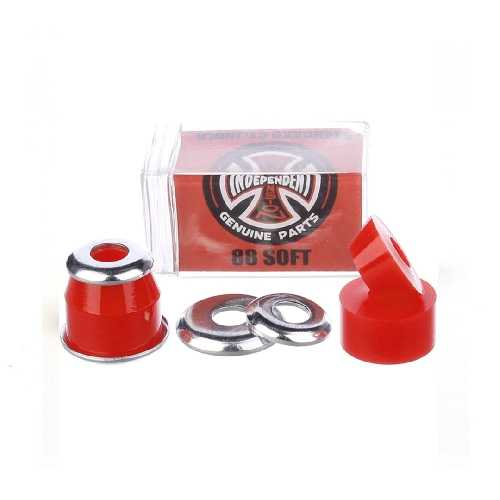 INDEPENDENT BUSHINGS CYLINDER SOFT 88A red