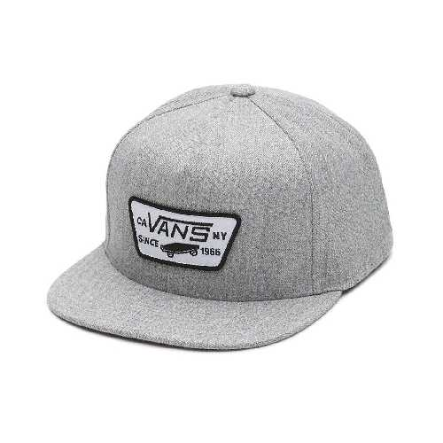 VANS FULL PATCH SNAPBACK CAP heather grey