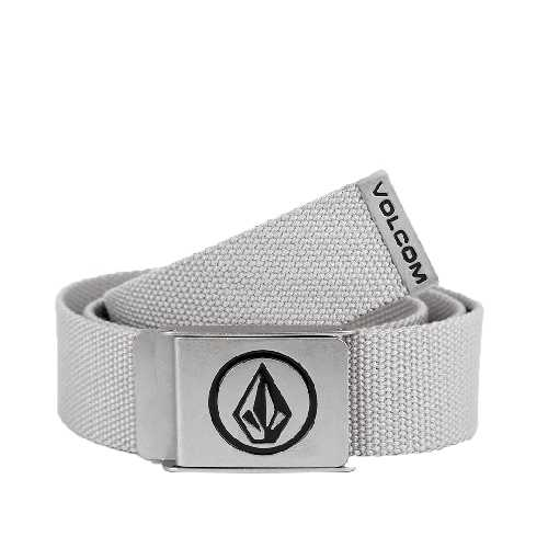 VOLCOM CIRCLE WEB BELT heather grey