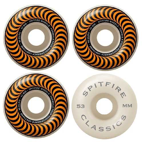 SPITFIRE FORMULA FOUR CLASSIC WHEELS 99D 53mm