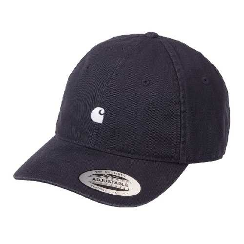 CARHARTT WIP MADISON LOGO CAP Dark Navy / Wax