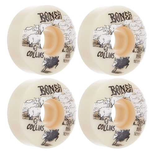 BONES STF V3 COLLINS BLACK SHEEP WHEELS 99a 52mm