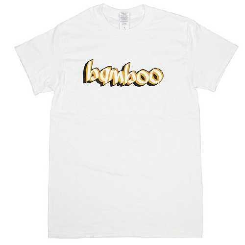 BAMBOO TEAM LOGO TEE white