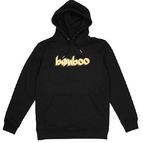 BAMBOO TEAM LOGO HOOD black