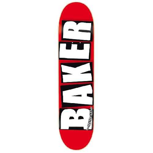 BAKER BRAND LOGO WHITE DECK 8.25 X 31.75