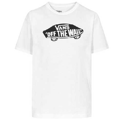 VANS OTW TEE white black