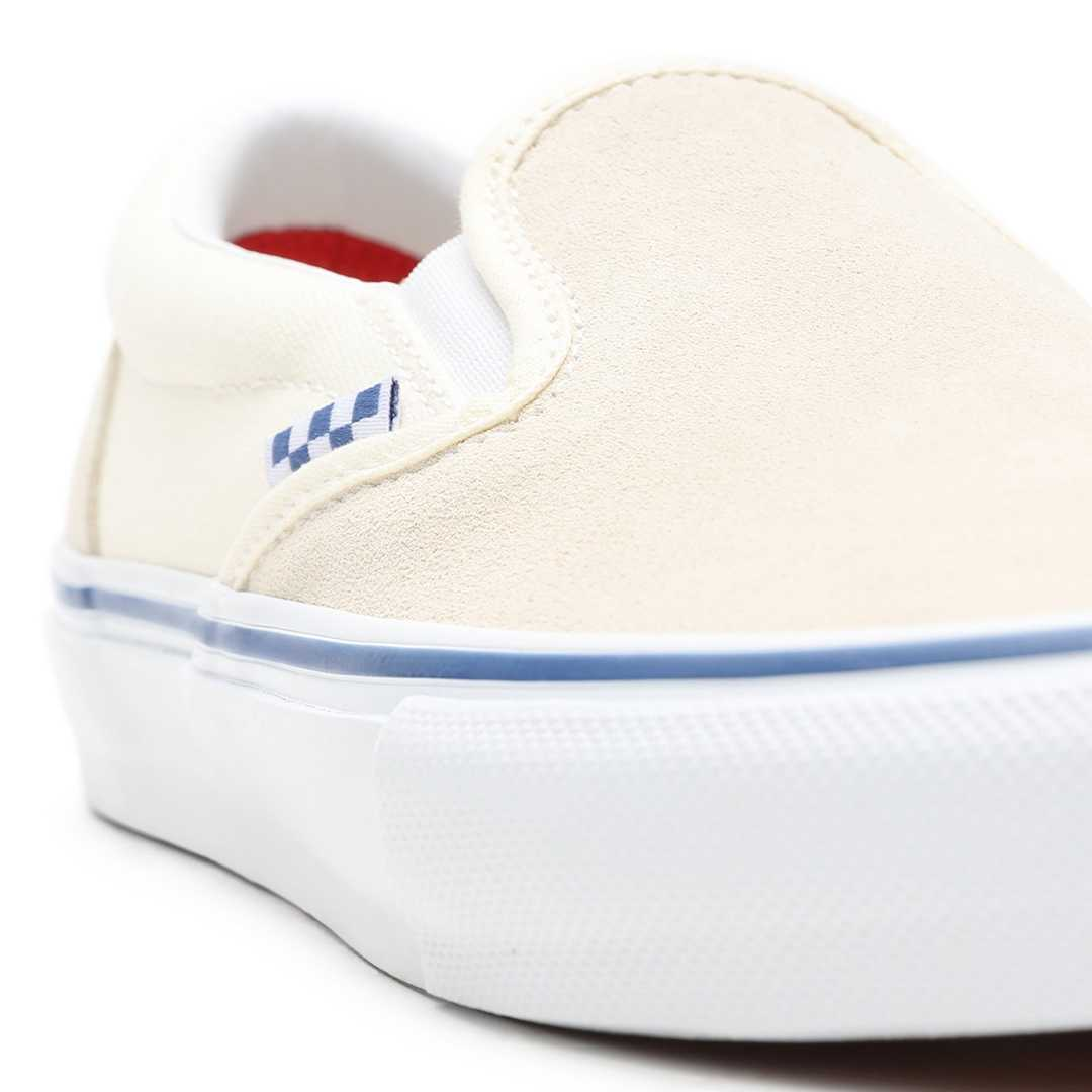 VANS SLIP ON PRO SKATE off white
