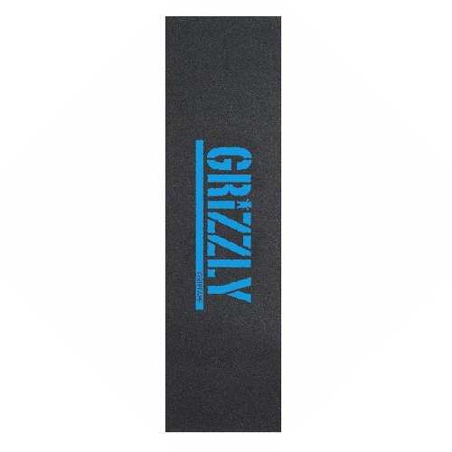 GRIZZLY GRIP STAMP PRINT blue 9 x 33