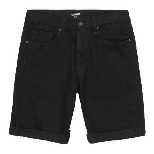 CARHARTT WIP SWELL SHORT Black rinsed