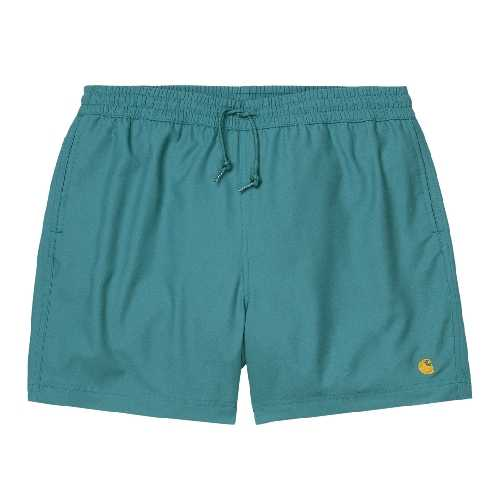 CARHARTT WIP CHASE SWIM TRUNK Hydro / Gold
