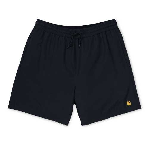 CARHARTT WIP CHASE SWIM TRUNK Black / Gold