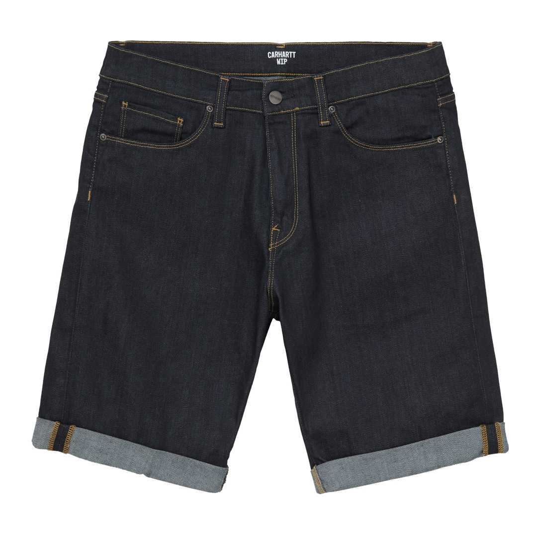CARHARTT WIP SWELL SHORT Blue one wash