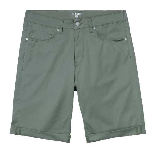CARHARTT WIP SWELL SHORT Dollar Green rinsed