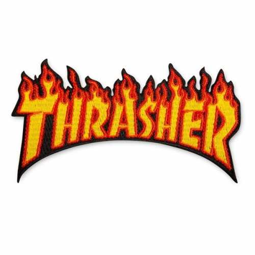 THRASHER PATCH FLAME 11.5cm...
