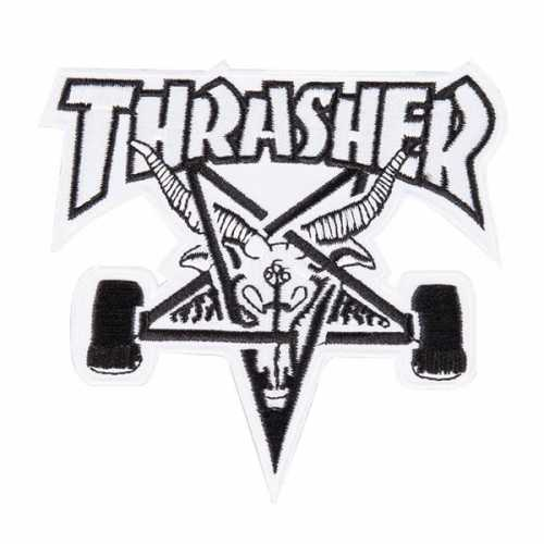 THRASHER PATCH SK8 GOAT...