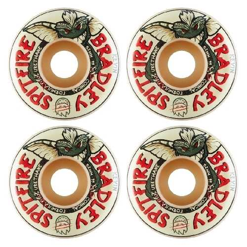 SPITFIRE BRADLEY AFTER MIDNIGHT F4 CONICAL WHEELS 99D 52mm