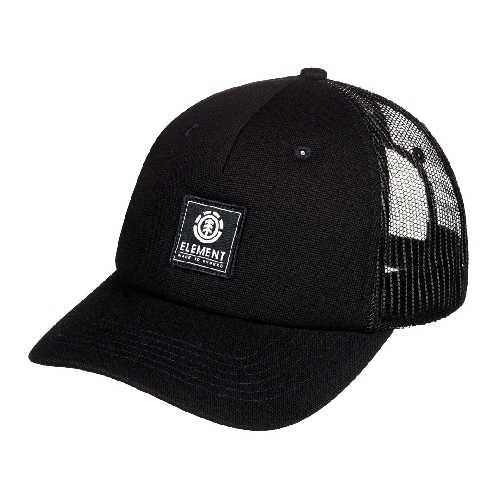 ELEMENT ICON MESH CAP all black