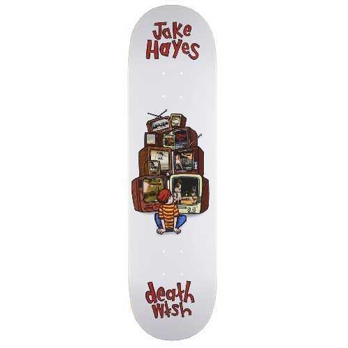 DEATHWISH CHANNEL SURFING JAKE HAYES DECK 8.25 X 31.5