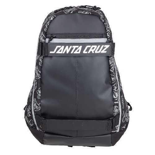 SANTA CRUZ DISPATCH SKATEPACK BAG black