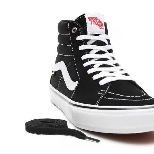 VANS SK8 HI SKATE black white