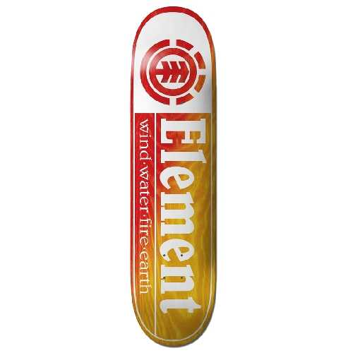 ELEMENT SECTION YELLOW DECK 8.25 x 31.93