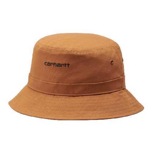 CARHARTT WIP SCRIPT BUCKET HAT Rum / Black