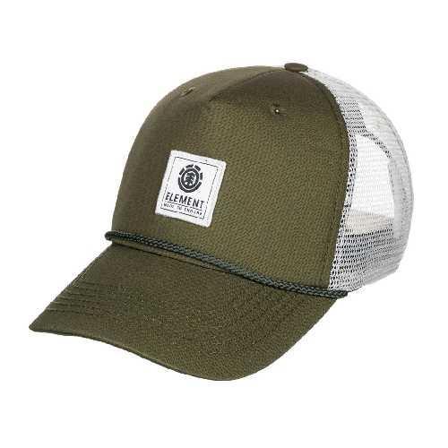 ELEMENT STINT TRUCKER CAP Army