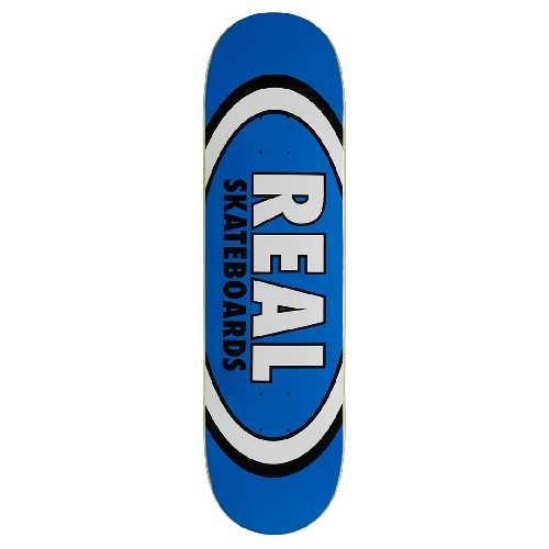 REAL TEAM CLASSIC OVAL BLUE DECK 8.5 X 31.8