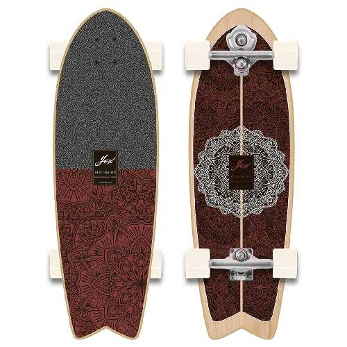YOW SURF HUNTINGTON BEACH POWER SURFING SERIES S5 SURFSKATE 30 pouces