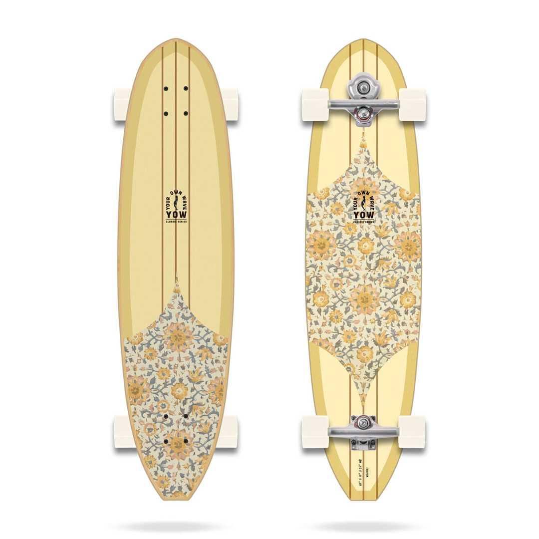 YOW SURF WAIKIKI CLASSIC SERIES SURFSKATE 40 pouces