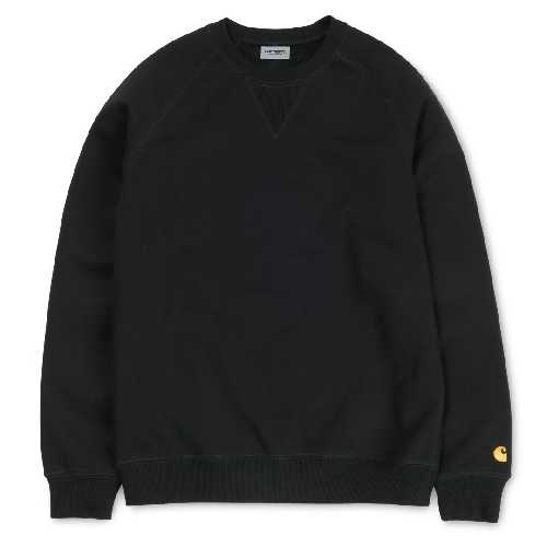 CARHARTT WIP CHASE SWEAT Black / Gold