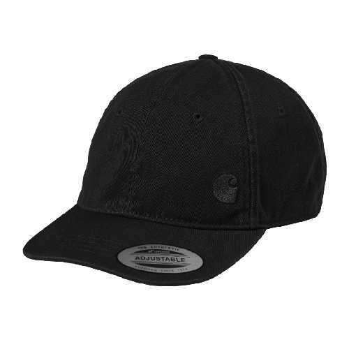 CARHARTT WIP MASON LOGO CAP Black