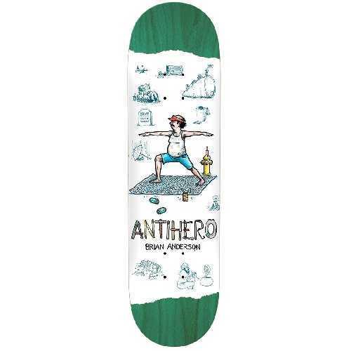 ANTIHERO B ANDERSON RECYCLING DECK 8.5 X 31.85