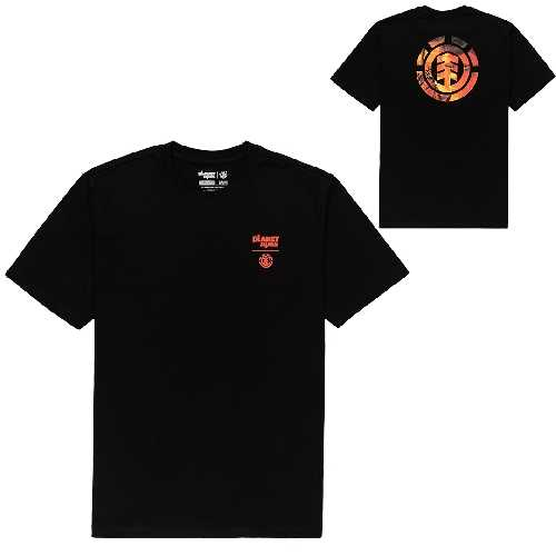 ELEMENT PLANET OF THE APES VICTORY SS TEE flint black