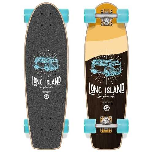 LONG ISLAND STAMP CRUISER COMPLET 26 x 7.5