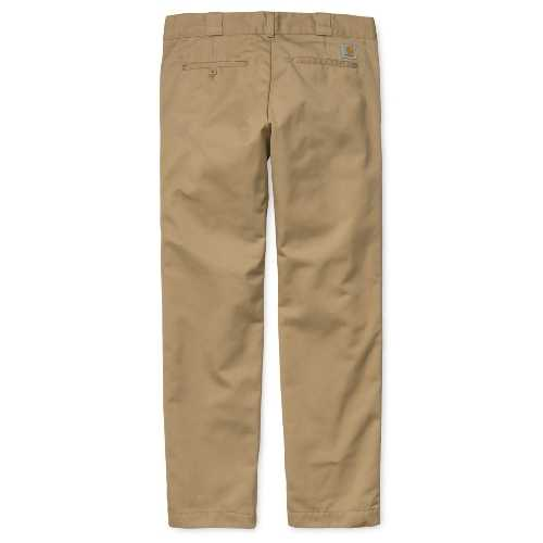 CARHARTT WIP MASTER PANT Leather rinsed