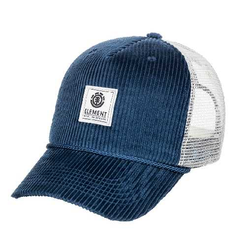 ELEMENT BARK TRUCKER CAP insignia blue