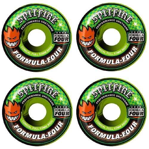 SPITFIRE F4 SWIRL COLOR UP CONICAL WHEELS 99D 53mm