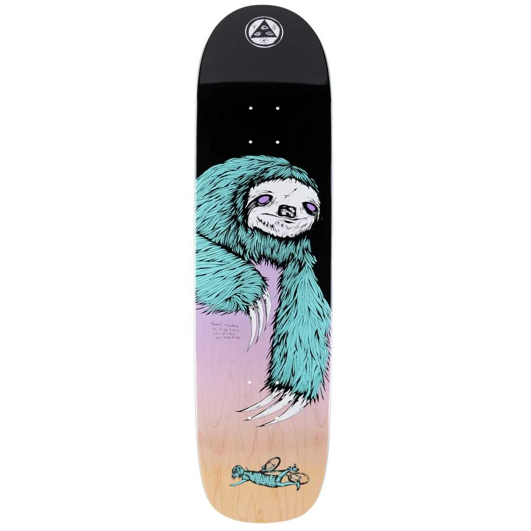 WELCOME SLOTH SON OF PLANCHETTE DECK 8.38 x 32.25